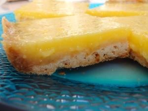 Lemon Square Close Up Use