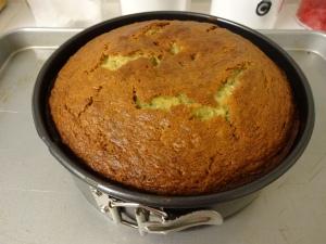 Banana Cake-Cooked