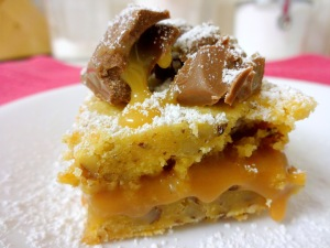 Caramello Blondies-Final Shot